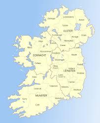 ireland road map u2022 mapsof net