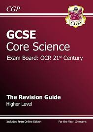 gcse core science ocr 21st century revision guide higher with
