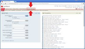 lexisnexis case search changing the search criteria for a scheduled search knowledge