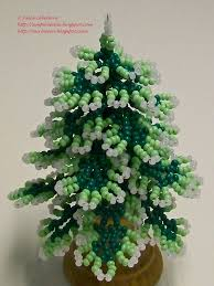 beading for the beginners decorated tree