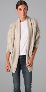 Cocoon Sweater Cardigan Vince Cocoon Cable Knit Sweater Shopbop