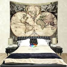 World Map Home Decor Wall Ideas Decorative World Map Wall Art Vintage World Map Wall
