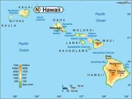 map of hawaii cities hawaii cities map
