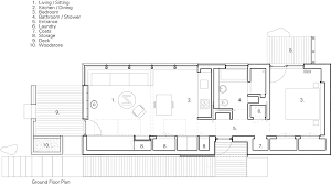 design a floor plan the tinhouse by rural design is a self built home on a scottish isle
