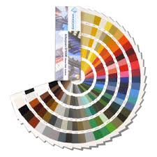 special ral colour examples aluminium polyester powdercoat paint