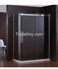 frameless sliding shower rooms by zhongshan maxia sanitary ware