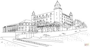 castle coloring page free printable coloring pages