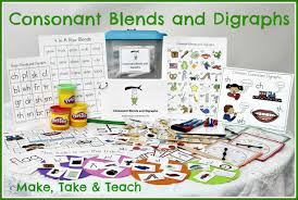 Digraphs Worksheets Teaching Blends And Digraphs Make Take U0026 Teach