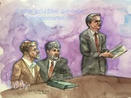 courtroom artist vicki ellen behringer