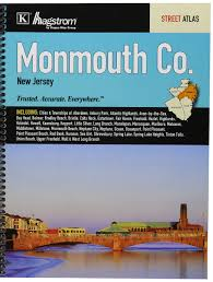 monmouth county nj street atlas kappa map group 9780762582129