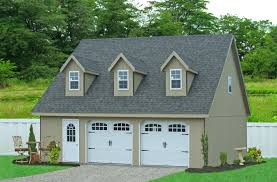 Garage With Apartment by 2 Story Prefab Garage Horizon Structuresprefab Car Massachusetts