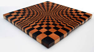 3d hardwood end grain butcher block cutting board