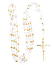 wedding lasso rosary gold rosary ebay