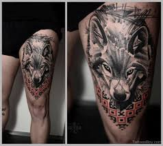 wolf tattoos designs pictures