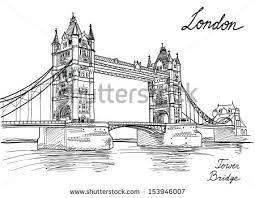 tower bridge london twilight wallpapers free vector drawn london tower bridge download free vector art