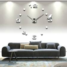 wall clocks canada home decor decorative oversized wall clock rossobianco me