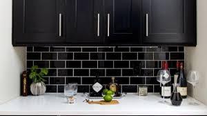black subway tile kitchen backsplash gorgeous 35 beautiful kitchen backsplash ideas black subway tiles