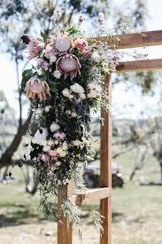 wedding arches tasmania flower wedding arbour obsessing proteas want them