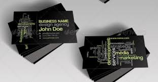 word cloud business card template business card critic rate