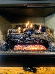 vented fireplace gas logs reviews fireplaces vs vent free smell