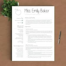 education resume template download teachers samples teacher