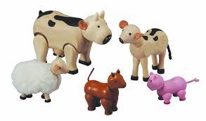 Plan Set by Plan Toys U003cbr U003efarm Animal Set