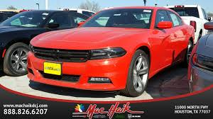 mac haik dodge chrysler jeep ram houston tx 2017 dodge charger sxt sedan in houston d70594 mac haik