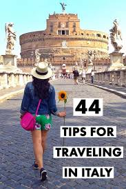 44 Tips For Traveling In Italy U2013 History In High Heels