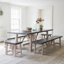 cement table and bench arden table and bench set bench set bench and acacia wood