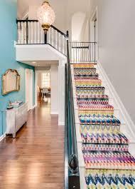 Stair Runner Rugs Boston Stair Runner Carpet Staircase Eclectic With Custom Rug