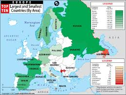 a map of europe with countries europe s smallest country world s smallest country which one is
