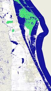 Map Of Volusia County Bridgehunter Com Brevard County Florida