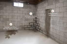 leaking basement wall basements ideas