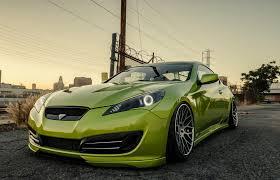 2016 hyundai genesis coupe sports cars hyundai genesis stance tuning green hyundai coupe genesis green