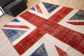 Purple Union Jack Rug Teal Area Rug 8x10 Envialette