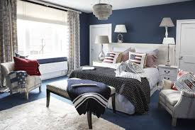 red and blue bedroom happy 4th of july interiors inspired by red white blue