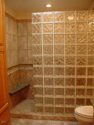 glass block bathroom ideas glass block shower wall design ideas photo glass block shower