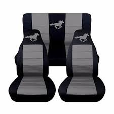 2010 mustang seat covers 2008 2010 ford mustang convertible seat covers separate