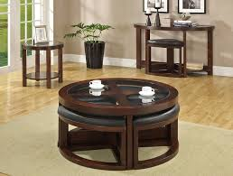 Crystal Coffee Table by Crystal Cove Coffee Table With Ottomans