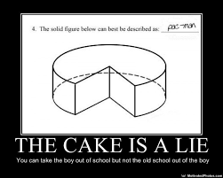 Cake Is A Lie Meme - image 34178 the cake is a lie know your meme