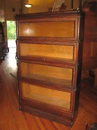 Lawyers Bookcase We Ship Antique Macey Oak 4 Stack Barrister Bookcase Book Shelf