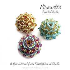 starlight and skulls free pirouette beaded tutorial