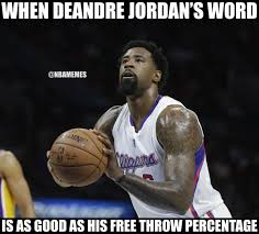 Deandre Jordan Meme - deandre jordan went from mavs back to clippers real quick http