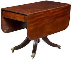Pedestal Dining Room Table Fine Classical Mahogany Pedestal Dining Room Table Boston Circa