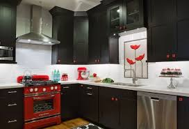 Red And Black Kitchen Tiles - how to design a red and black kitchen home decor buzz