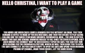 I Wanna Play A Game Meme - i wanna play a game meme 28 images 15 do you want to play a