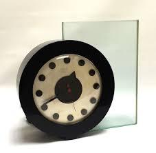 Herman Miller Clocks Art Deco Machine Age Gilbert Rohde Clock Model 4081a Herman Miller