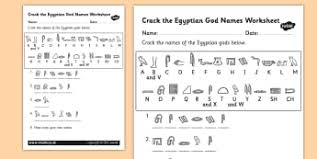 ks2 egyptians writing frames and worksheets primary page 1