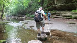 Matthiessen State Park Trail Map by Hike Starved Rock May 29 2014 Matthiessen Park