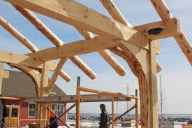 Frame House Prx Piece Building A Traditional Norwegian Grindbygg Timber Frame